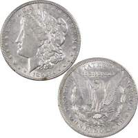 1892 MORGAN DOLLAR AU ABOUT UNCIRCULATED DETAILS 90 SILVER $1 US COIN
