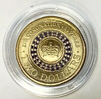 2013 THE 60TH CORONATION OF HER MAJESTY QUEEN $2 COLOURED CO