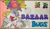 1999 FRUIT BERRIES STRAWBERRY FIRST DAY COVER HAND DRAWN COL