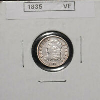 1835 CAPPED BUST HALF DIME   VF/ XF CONDITION