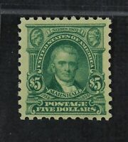 CKSTAMPS: US STAMPS COLLECTION SCOTT480 $5 MARSHALL MINT NH