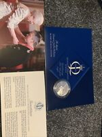 ROYAL MINT QUEENS DIAMOND JUBILEE COLLECTION STERLING SILVER