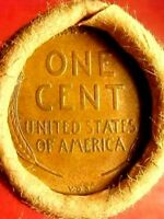 OLD ROLL LINCOLN WHEAT CENT PENNY 1909 VDB /