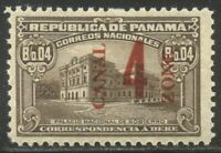 CANAL ZONE J11 MINT   1919 4C ON 4C OLIVE BROWN  $35