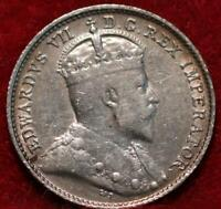 1903 CANADA 5 CENTS SILVER FOREIGN COIN