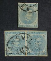 CKSTAMPS: US CUT SQUARE STAMPS COLLECTION CSA SCOTT7 USED 1