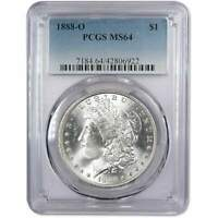 1888 O MORGAN DOLLAR MINT STATE 64 PCGS 90 SILVER $1 UNCIRCULATED US COIN COLLECTIBLE