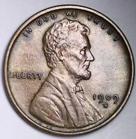 UNCIRCULATED UNC MS 1909 S VDB KEY DATE LINCOLN WHEAT CENT P