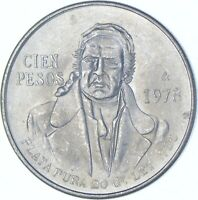 BETTER DATE   1978 MEXICO 100 PESOS   SILVER  030