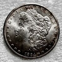 1884 CC MORGAN DOLLAR MY GRANDPAS COIN COLLECTION. WILL READS  VALUABLE MS