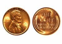 1955-D  LINCOLN CENT - RPM-009 CHOICE BU RED  5544