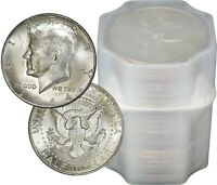 FULL DATES ROLL OF 20 $10 FACE VALUE 90  SILVER 1964 KENNEDY HALF DOLLARS