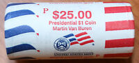 2008 P MARTIN VAN BUREN PRESIDENTIAL DOLLAR ROLL VB2  MINT WRAPPED ROLL