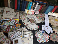 US AND WORLDWIDE STAMP COLLECTION OLD ESTATE  COVERS FDCS MINT  650  STAMPS