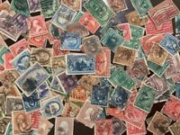 COLLECTION OF 170 DIFFERENT U.S. STAMPS AND $10 OF OLD U.S. STAMPS 1800S 1900S