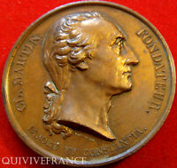 MED3667   MEDAILLE ECOLE LA MARTINIERE  LYON   MORALE 1865    FRENCH MEDAL