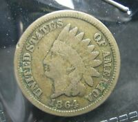 1864 CN INDIAN HEAD CENT   VG   K77