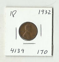 1932 LINCOLN WHEAT CENT    18