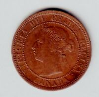 C8942     CANADA  LARGE CENT  COIN   1888