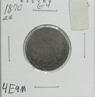 1870 TWO CENT G