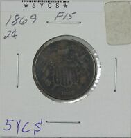 1869 TWO CENT F