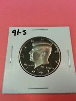 1991 S US PROOF KENNEDY HALF DOLLAR FROM US PROOF SET