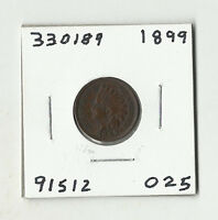 1899 INDIAN HEAD CENT  330189