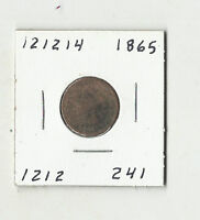 1865 INDIAN HEAD CENT -  121214