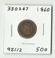 1860 INDIAN HEAD CENT  330267