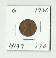 1932 LINCOLN WHEAT CENT    01