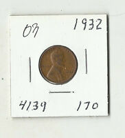 1932 LINCOLN WHEAT CENT    03