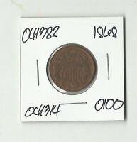 1868 TWO CENTS -  041382