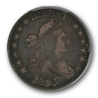 1806 DRAPED BUST HALF DOLLAR PCGS VF 25  FINE 50C POINTED 6, NO STEM