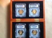 2007 S  $1.00  ICG GRADE PR70 DCAM  PRESIDENTIAL 4 SET IN DISPLAY CASE