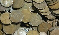 EARLY DATE LINCOLN WHEAT CENTS - ROLL 1930 S