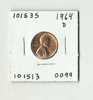 1964 D LINCOLN MEMORIAL CENT    101535