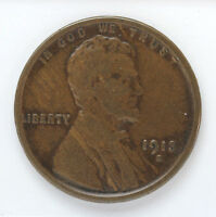 1913 S LINCOLN WHEAT CENT - F 01269548G