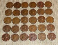LOT OF 30 LINCOLN CENTS DATED 1970
