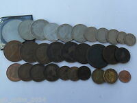 COIN COLLECTERS STARTER PACK 30 COINS 1700'S   MODERN DAY SEE LIST OF COINS.