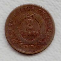 C5472      U.S.   TWO   CENTS    COIN,      1869