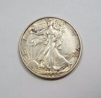 1940-S WALKING LIBERTY HALF DOLLAR ALMOST UNCIRCULATED SILVER 50C
