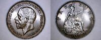 1932 GREAT BRITAIN 1 FARTHING WORLD COIN   UK   ENGLAND