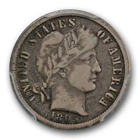 1895 O 10C BARBER DIME PCGS VF 20 FINE NEW ORLEANS TONED