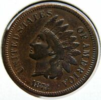 1873 ONE CENT INDIAN HEAD PENNY COIN LOT A 931