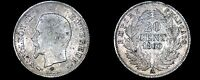 1860 A FRENCH 20 CENTIMES WORLD SILVER COIN   FRANCE