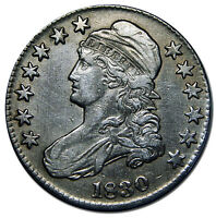 1830 CAPPED BUST HALF DOLLAR 50 COIN LOT MZ 2328