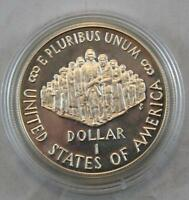 1787   1987 S SILVER 1 DOLLAR 200TH ANNIVERSARY US CONSTITUTION COIN