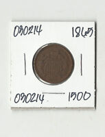1865 TWO CENTS -  030214