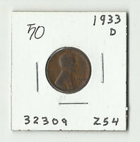 1933 D LINCOLN WHEAT CENT    50