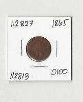 1865 INDIAN HEAD CENT -  112827